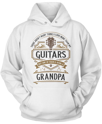 This (Nickname) Loves Guitars - T-Shirt - Pullover Hoodie / White / S