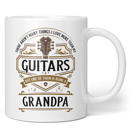 This (Nickname) Loves Guitars - Personalized Mug / Tea Cup