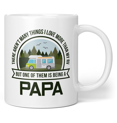 This (Nickname) Loves Their RV - Personalized Mug / Tea Cup