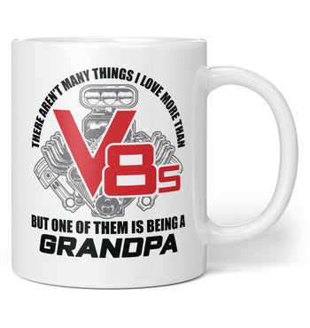 This (Nickname) Loves V8s - Personalized Mug / Tea Cup