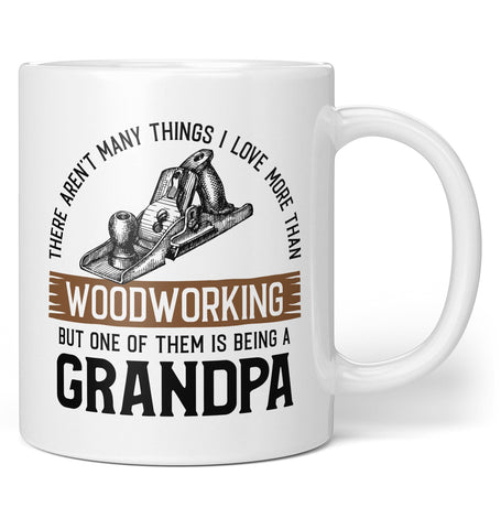This (Nickname) Loves Woodworking - Personalized Mug / Tea Cup