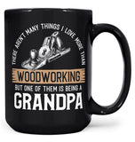 This (Nickname) Loves Woodworking - Mug - Black / Large - 15oz