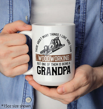This (Nickname) Loves Woodworking - Mug - [variant_title]