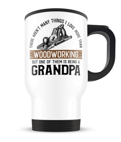 This (Nickname) Loves Woodworking - Personalized Travel Mug