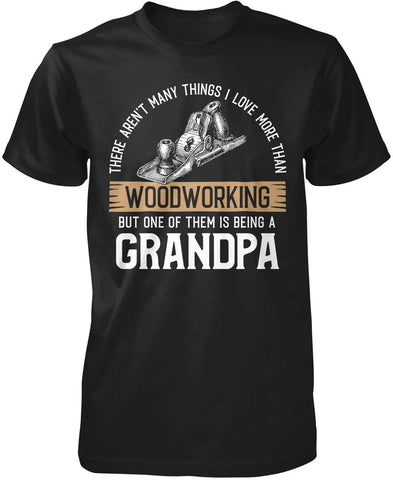 This (Nickname) Loves Woodworking - Personalized T-Shirt