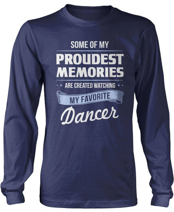 My Proudest Memories - Dancer - Long Sleeve T-Shirt / Navy / S