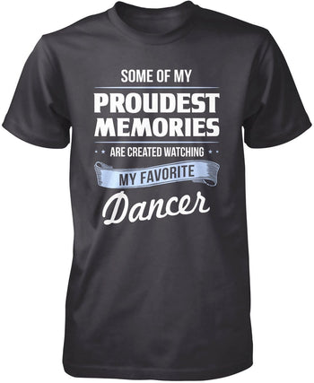 My Proudest Memories - Dancer - Premium T-Shirt / Dark Heather / S