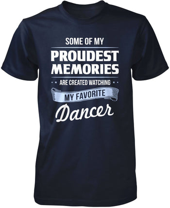 My Proudest Memories - Dancer - Premium T-Shirt / Navy / S