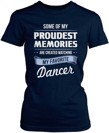 My Proudest Memories - Dancer - Women's Fit T-Shirt / Navy / S