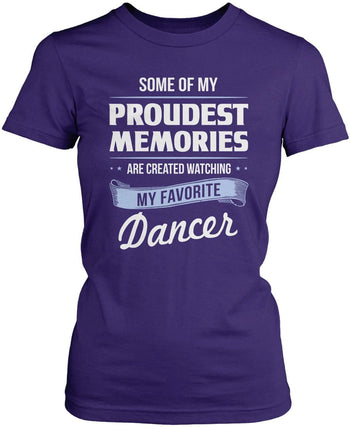 My Proudest Memories - Dancer - Women's Fit T-Shirt / Purple / S