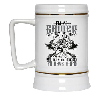 This Gamer Has Many Lives - Beer Stein - [variant_title]