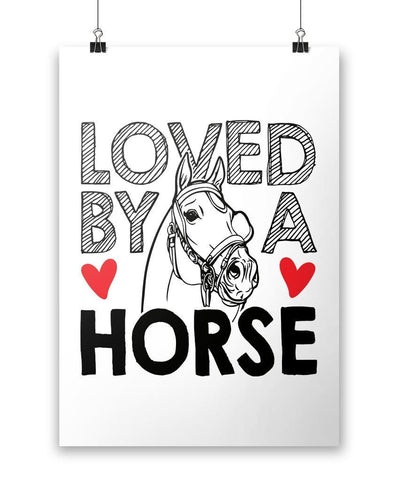 Loved by a Horse - Poster