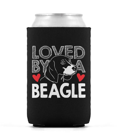 Loved by a Beagle - Can Cooler