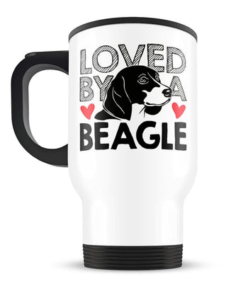 Loved by a Beagle - Travel Mug - [variant_title]