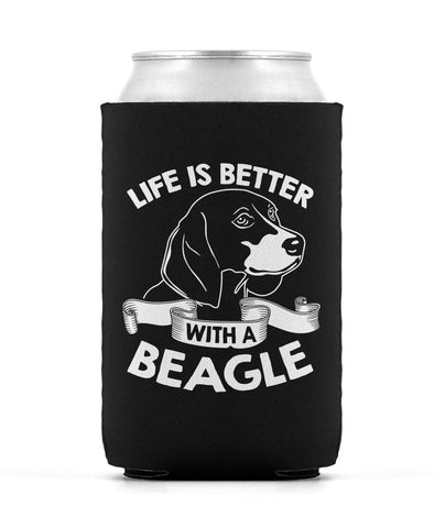 Life Is Better with a Beagle - Can Cooler