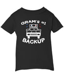 Gram's #1 Backup - Infant T-Shirt