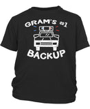 Gram's #1 Backup - Toddler T-Shirt