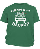 Gram's #1 Backup - Children's T-Shirt