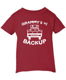 Grammy's #1 Backup - Children's T-Shirt