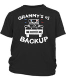 Grammy's #1 Backup - Toddler T-Shirt