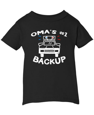 Oma's #1 Backup - Infant T-Shirt