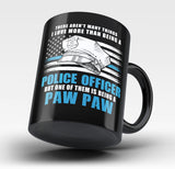 This Paw Paw Loves Being a Police Officer - Mug