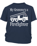 My Grammy's a Firefighter - Children's T-Shirt