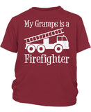 My Gramps is a Firefighter - Children's T-Shirt