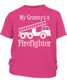 My Granny's a Firefighter - Children's T-Shirt