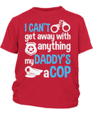 My Daddy's a Cop - Children's T-Shirt