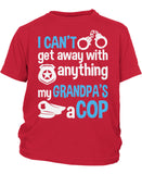 My Grandpa's a Cop - Children's T-Shirt