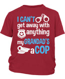 My Grandad's a Cop - Children's T-Shirt