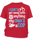 My Oma's a Cop - Children's T-Shirt