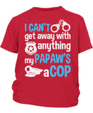 My Papaw's a Cop - Children's T-Shirt