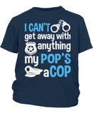 My Pop's a Cop - Children's T-Shirt