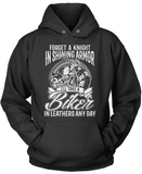 I'll Take a Biker in Leathers Any Day Pullover Hoodie Sweatshirt