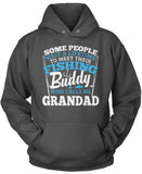 Fishing Buddy - Mine Calls Me Grandad - T-Shirt