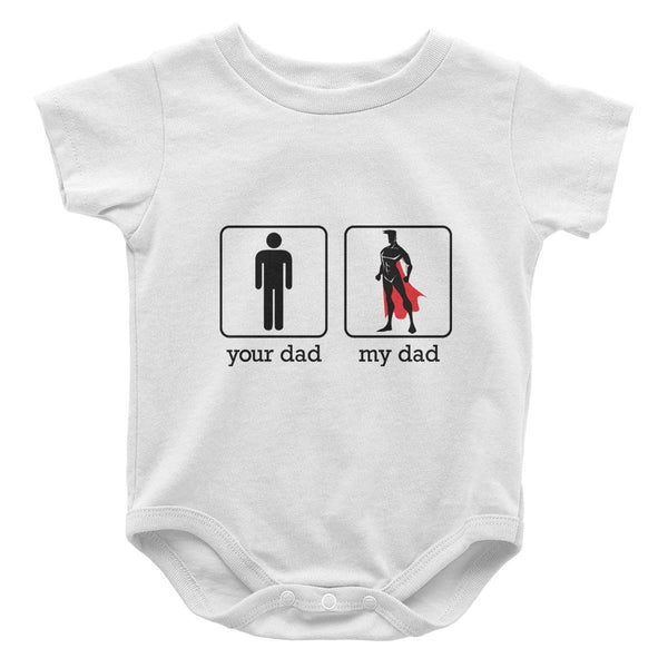 a0085ae32 Your Dad My Dad - Baby Onesie