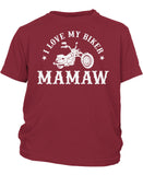 I Love My Biker Mamaw - Children's T-Shirt
