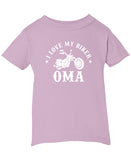 I Love My Biker Oma - Children's T-Shirt