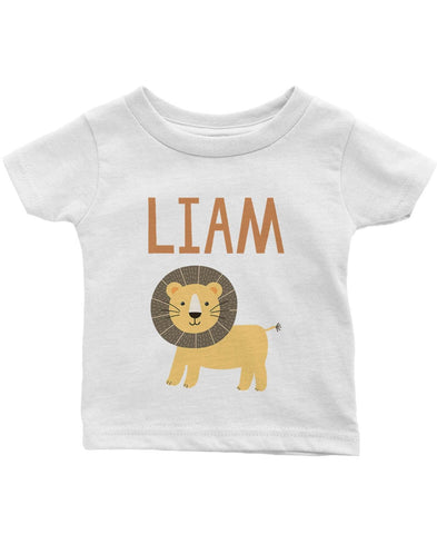 Safari Lion - Personalized Infant & Toddler T-Shirt
