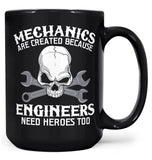 Mechanics - An Engineers Hero - Mug - Black / Large - 15oz