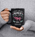 Life Comes with a Mom - Personalized Mug - [variant_title]