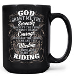 Motocross Serenity - Mug - Black / Large - 15oz