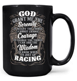 Motor Racing Serenity - Mug - Black / Large - 15oz