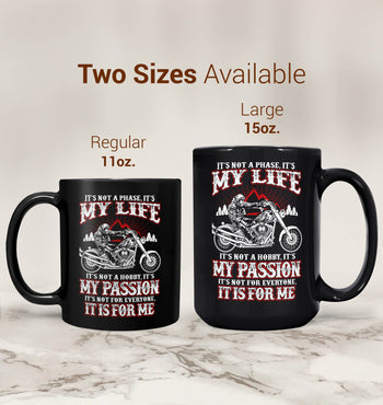 Motorcycles - My Life, My Passion - Mug - [variant_title]