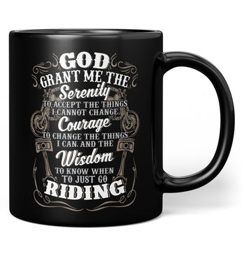 Motorcycle Serenity - Special Edition - Mug - Black / Regular - 11oz