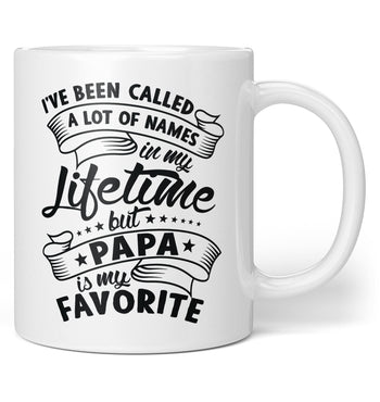 My Favorite Name Is Papa - Personalized Coffee Mug / Tea Cup