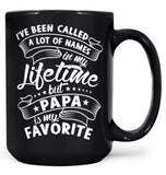 My Favorite Name Is (Nickname) - Mug - Black / Large - 15oz