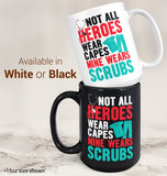 My Hero Wears Scrubs - Mug - [variant_title]